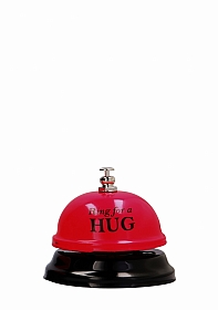Ring For A Hug - Hotel Bell - Red