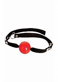 Beginner's Ball Gag - Red