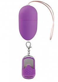 10 Speed Remote Vibrating Egg - Medium - Purple
