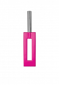 Leather Gap Paddle - Pink