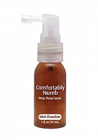 Comfortably Numb Deep Throat Spray - Chocolate Mint