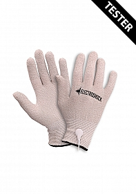E-Stimulation Gloves - Grey - Tester
