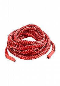 Japanese Silk Love Rope 5 meter -  Red