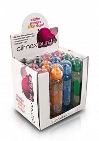 Climax Bursts 4 oz. - 12 pc. - P.O.P. Display