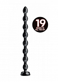 "1.5"" Beaded Hose -19"" Long - Black"