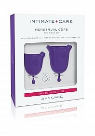 Intimate Care Menstrual Cups - Purple