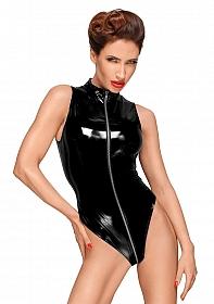 High cut PVC body  - Black